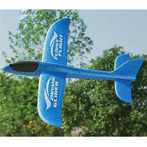 City-Center 投げグライダー グライター 飛行機 航空機 慣性おもちゃ おもちゃ 飛行機モデル キッド 少年 ギフト アウトドア アクティビティ 屋外 手投げグライダー