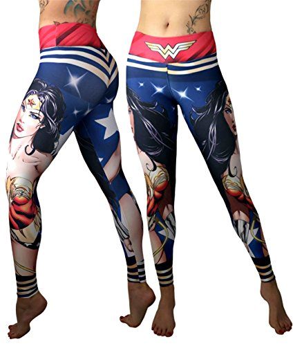 5179f1340fe0b Superhero Leggings Yoga Pants Compression Tights (Many Styles ...
