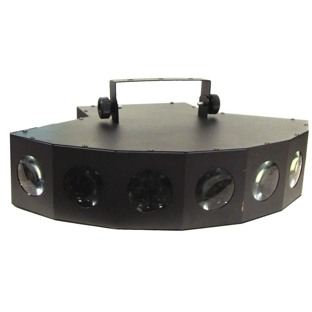 Cablematic – DMX512 LED Leuchtmittel Derby Lichteffekt 7