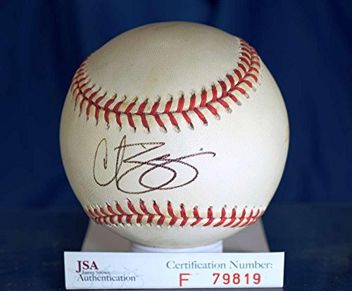 Curt Schilling Signed Baseball - National League Authentic - JSA Certified - Autographed Baseballs ()