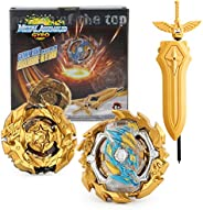 Bey Battling Top Burst Evolution Combination 4D Series, 2pcs Speed Gyro Metal, 1 throwers Set with Launcher Bl