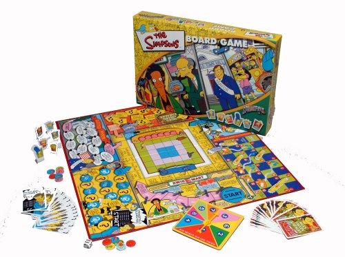Winning Moves Los Simpsons - Juego de mesa () [versión inglesa]