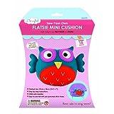My Studiogirl Sew-Your-Own Flatsie Mini Cushion Kit, Owl