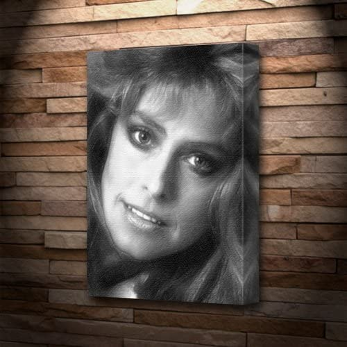 Farrah Fawcett signed photo print