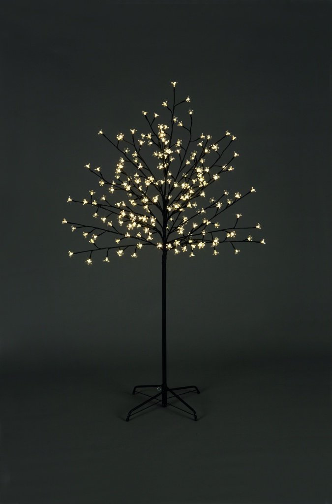 1.8m 6ft 180 LED Lights Christmas Cherry Blossom Tree Indoor Or Outdoors XMAS