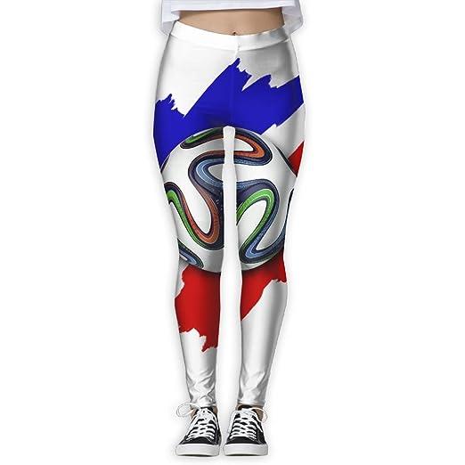 Amazon Com Wjm Show Women S European Football Leggings Yoga Long