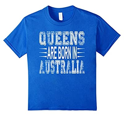 Funny Distressed Australia Tee Shirt For Girls & Women