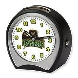 NCAA Collegiate Team Glow-in-the-Dark Table Musical Alarm Clock: Baylor University