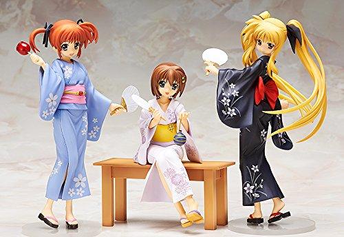 Magical Girl Lyrical Nanoha The Movie 2nd 2nd 2nd As Fate Testarossa Yukata Version 1 8 Scale PVC Figur 9b256a