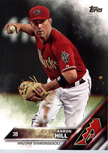 2016 Topps #203 Aaron Hill Arizona Diamondbacks Baseball Card