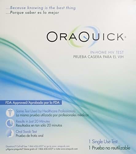 Oraquick HIV Test in Home