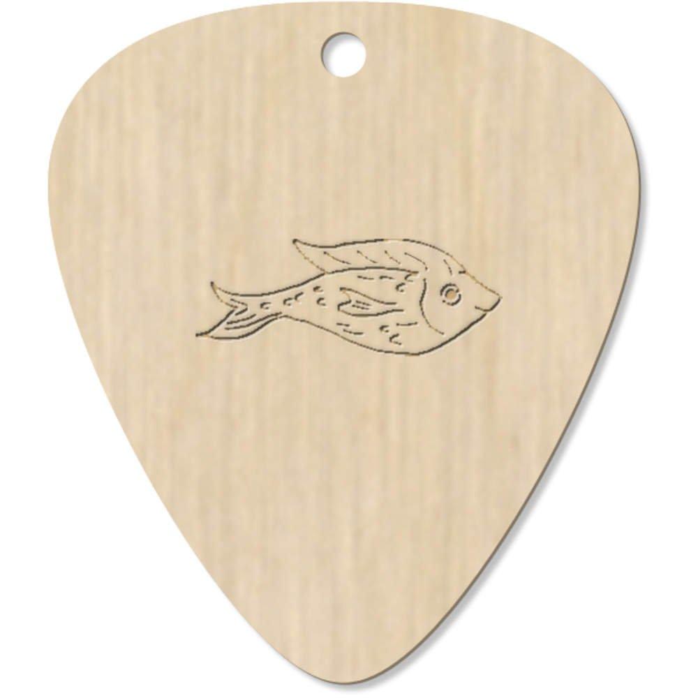 Azeeda 7 x Lindo Pez Guitarra Púa (GP00016416): Amazon.es ...