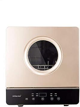 NTMD Lavavajillas, Mini Escritorio máquina de Lavar secador de ...