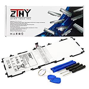 ZTHY SP3676B1A(1S2P) Battery For Samsung Galaxy Tab 2 10.1 Series Tablet GT-P7510 GT-7511 GT-N8010 GT-P5100 GT-P5110 GT-N8000 GT-P5113 P7500 N8013 With Tools 3.7V 7000mAh by Zthy
