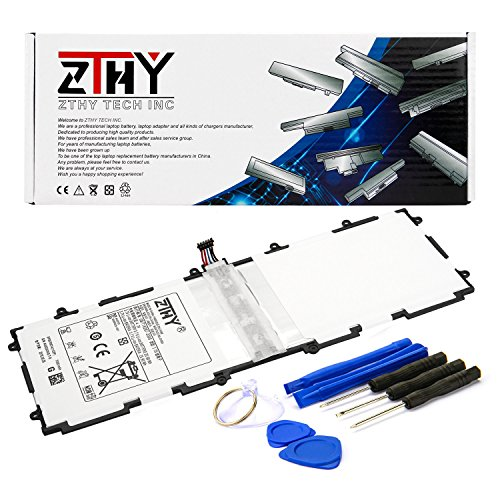 ZTHY SP3676B1A(1S2P) Battery For Samsung Galaxy Tab 2 10.1 Series Tablet GT-P7510 GT-7511 GT-N8010 GT-P5100 GT-P5110 GT-N8000 GT-P5113 P7500 N8013 With Tools 3.7V 7000mAh
