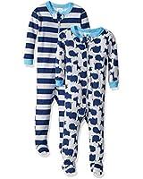 Burt's Bees Baby Baby Boys Pajamas, Zip...