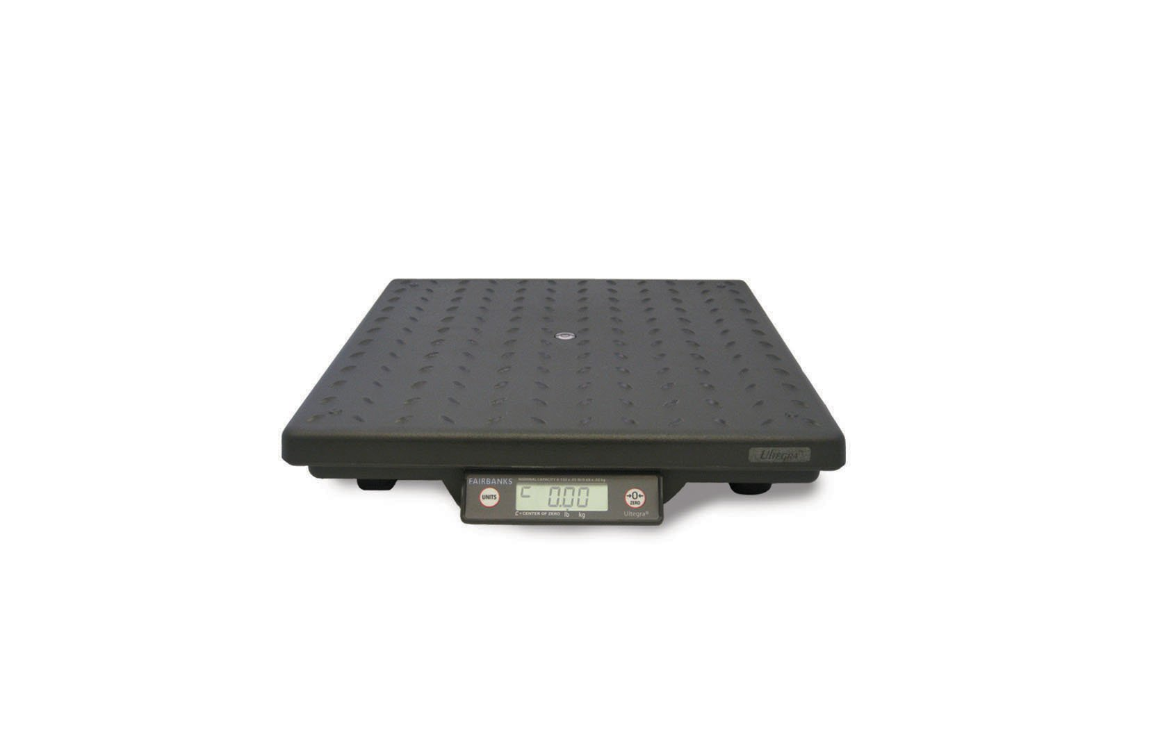 Fairbanks Scales 29824 Ultegra Flat Top Parcel Shipping Scale, 14'' Length, 14'' Width, 2.4'' Height, 150 lbs Capacity