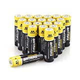 Batmax High Capacity Pack of 20 NiMH 2800mAh AA Rechargeable Batteries (Case included)