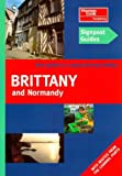 Front cover for the book Signpost Guide Brittany and Normandy by Christopher Rice