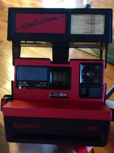 Polaroid Cool Cam Instant 600 Film Camera (Polaroid Vintage Instant Camera)