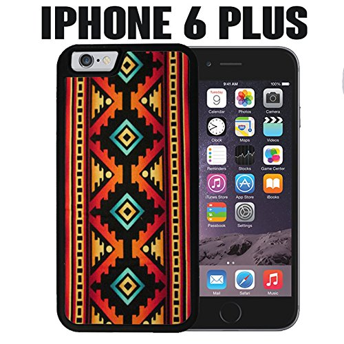 finest selection c0c9f d1631 iPhone Case Native American Tribal Pattern for iPhone 6 PLUS Rubber Black  (Ships from CA)