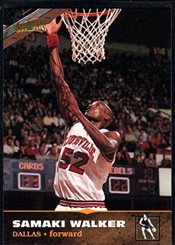 (MultiSport MultiSport 1996 Score Board All Sport PPF #111 Samaki Walker Mavericks)