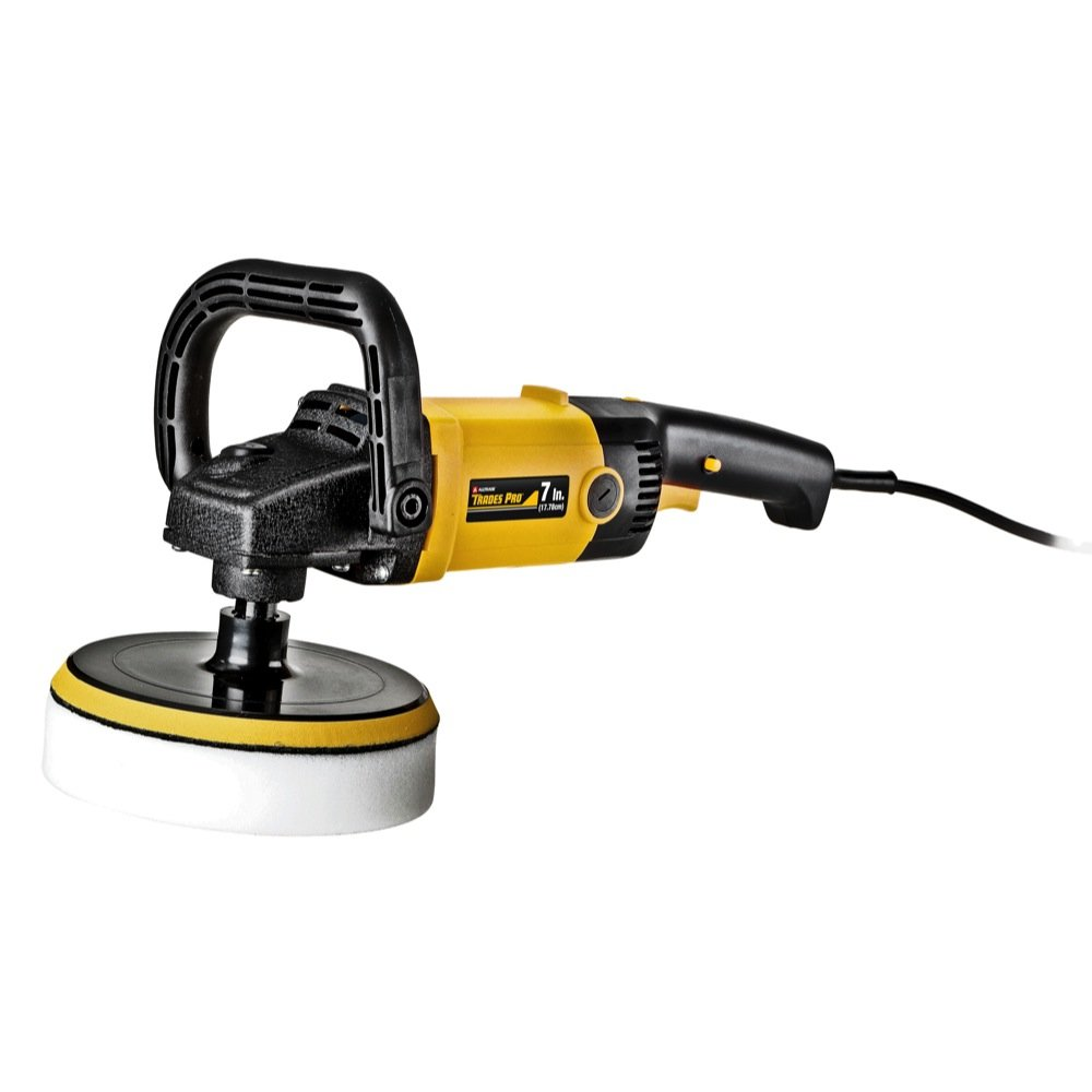 Tradespro 836788 7-Inch Variable Speed 10-Amp Sander Polisher