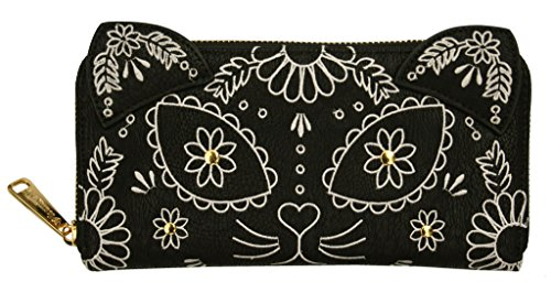 loungefly-embroidered-sugar-skull-cat-with-ears-day-of-the-dead-black-wallet