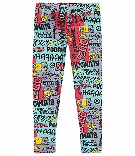 Minions Despicable Me Chicas Leggings 2016 Collection - Turqueza Turqueza