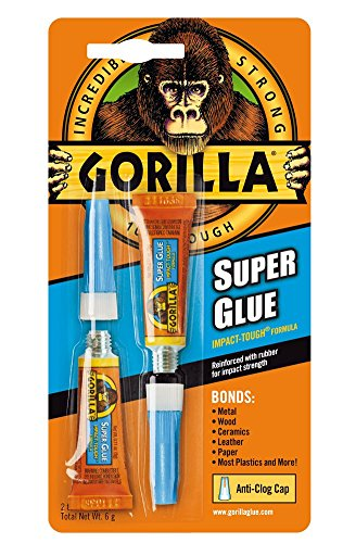 Gorilla Super Glue, 6 g, - Commerce Ca Outlets