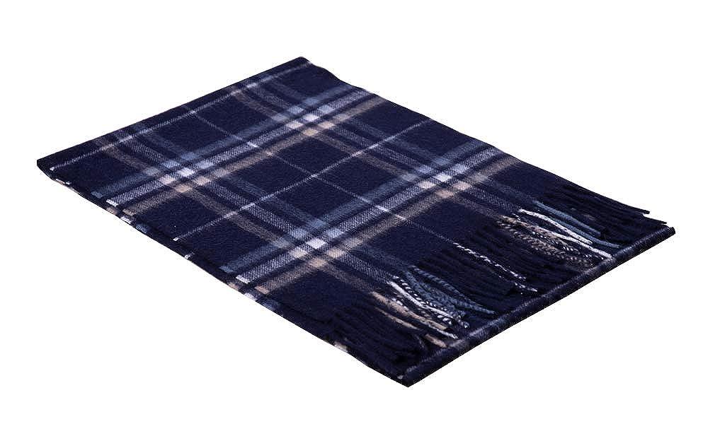 bluee B 100% Pure Cashmere Scarf Feel Pashmina Shawl Wraps Soft Warm For Men Women