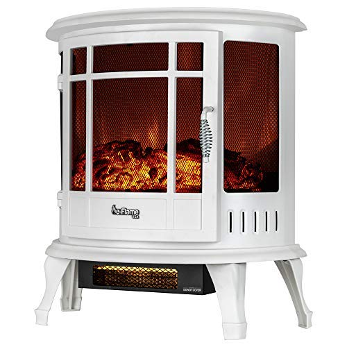 fake fireplace white - 7