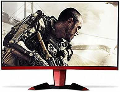 Hansung Ultron 3267 Curved 32 Inch FHD Curved Gaming Monitor (1920 x 1080) PVA, 144Hz, 1ms, Flicker Free, Low Blue Light, AMD FreeSync, Crosshair, DVI, HDMI, DP