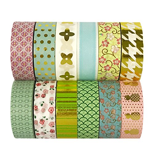 Wrapables WPSET48 Washi Masking Collection