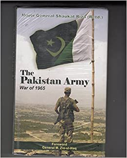 Amazon in: Buy THE Pakistan Army War 1965 Book Online at Low