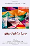 After Public Law (Oxford Constitutional Theory), Cormac Mac Amhlaigh, Claudio Michelon, Neil Walker, 0199669317