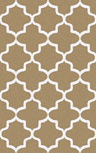 Shag-Area-Rug-Contemporary-Trellis-Design-Anti-Bacterial-Olefin-Fiber-23