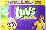 Health & Personal Care : Luvs With Ultra Leakguards Size 5 Diapers 140 Count by Luvs