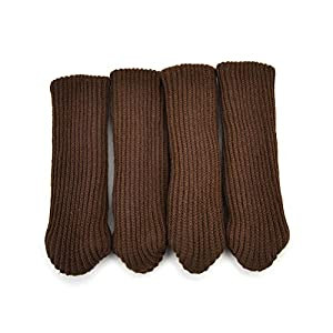 Wonderful 4pcs/Set Furniture Table Chair Leg Floor Protectors Table Legs Foot Cover  Knitting Furniture Protect Socks