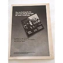 1977 Looking For Mr. Goodbar Soundtrack Album Magazine Print Advertisement