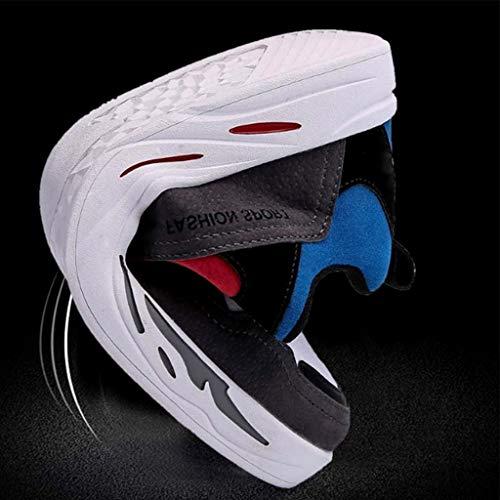 color Color Color tendenza da uomo gray uomo Scarpe scarpe scarpe estate uomo Gray da Black Size tela da di traspirante selvaggia casuale Dark WangKuanHome scarpe 44 7Rq4nwTq