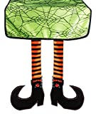 DII Polyester Witch Legs Halloween Table Runner for Halloween, Dinner Parties and Scary Movie Nights - 16x75 16x75