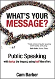 """""""Finally, a book on public speaking that's worth reading (and using)."""" - SETH GODIN, Author, Tribes""""Congratulations Cam. Wonderful stories, delivered well. I wish you every success."""" - JACK WELCH,former CEO of GE and author of 'Winning'The e..."""