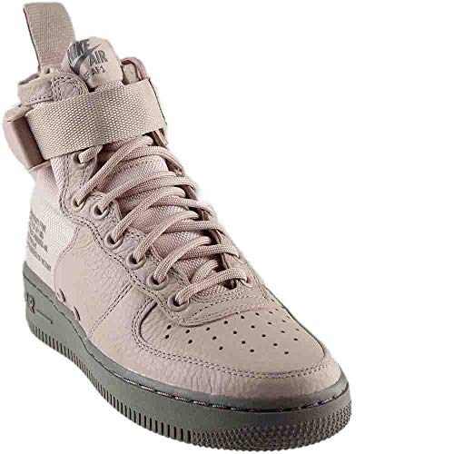 NIKE Women's SF AF1 Mid Silt Red/Silt Red/Dust Basketball Shoe 8.5 Women US (Red Sneakers Nike Women For Wedge)
