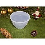 Just Pudding Basins Pudding Basin & Lid 1/4 Pint/140ml Clear