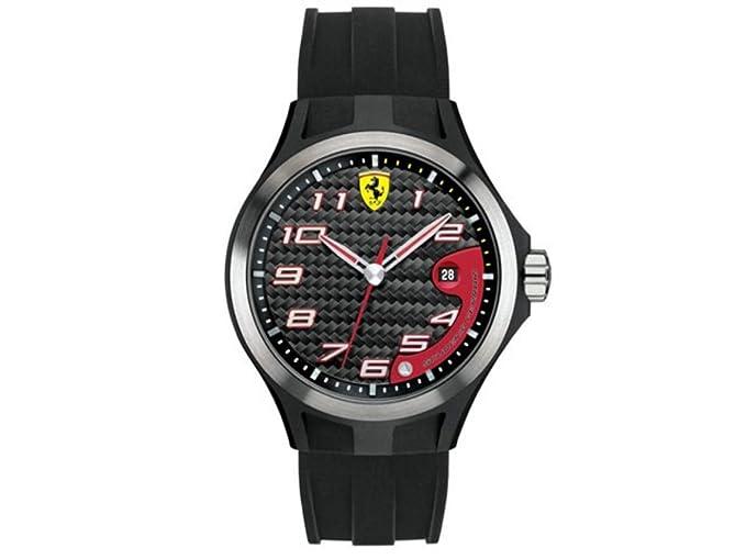 Scuderia Ferrari - 0830012 - Reloj, Correa de Goma Color Negro: Amazon.es: Relojes
