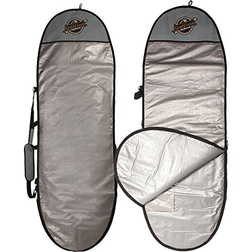 Gold Coast Surfboards Surfboard Bag & Paddle Board Bag | Surf Bag Surfboard Covers (5', 6', 7', 8', 9', 11' Day Board Bags)