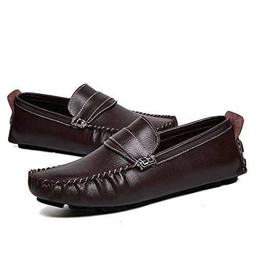 Uomo Canoa Grant Mocassini on Loafer Cricket Marrone da Slip Penny Scarpe Casual Scarpe rTrqF1