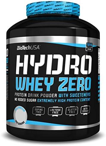 BioTech Hydro Whey Zero Proteínas de Suero de Leche, Sabor ...