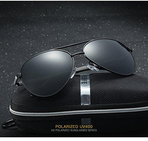 Polarizadas Sol C4 400 para De UV Gafas Aviator Hombre Protección Mujer C2 para Pq5wWCvEx